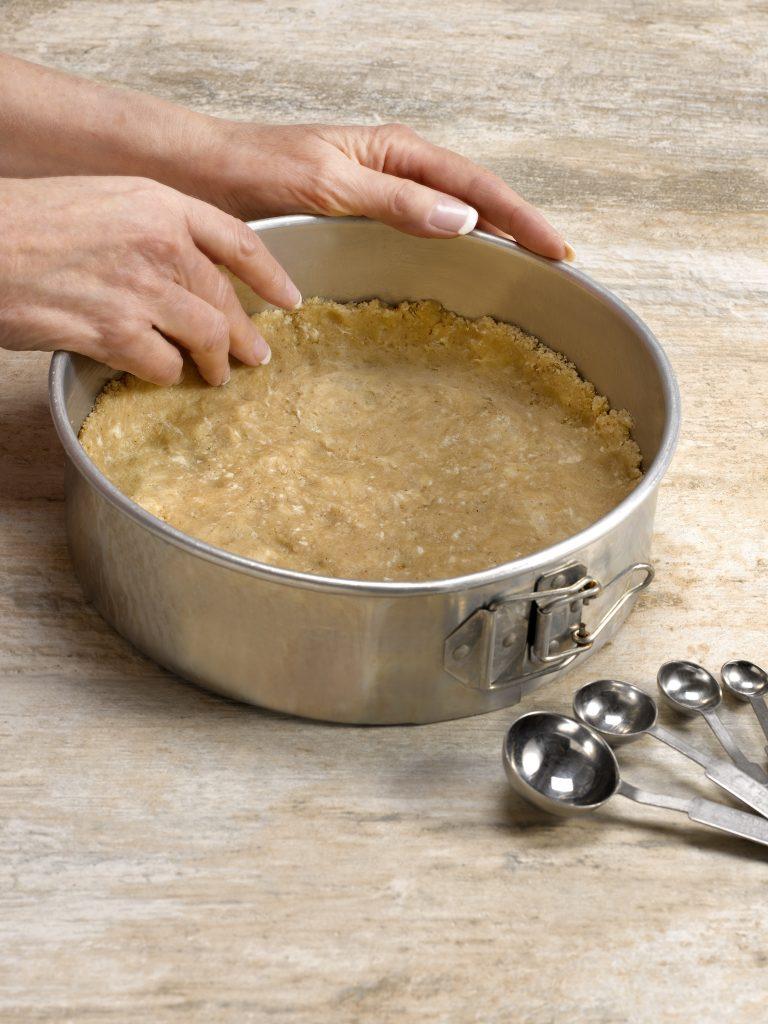 Pear Kuchen Crust process