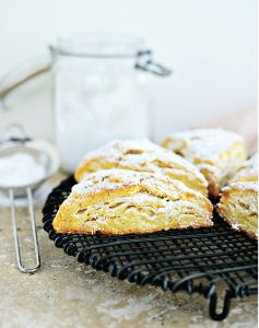 lemon-ginger-scones