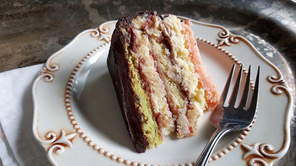 Rainbow Cake Recipe Italian: Italian Rainbow Cookie Cheesecake